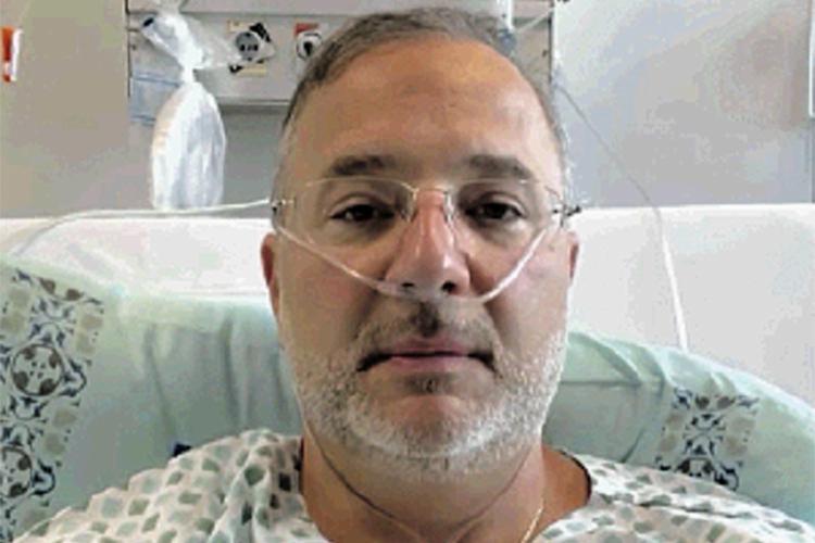 Vilas-Boas segue realizando intensa fisioterapia respiratória, com um quadro clínico estável | Foto: Reprodução | Instagram - Foto: Reprodução | Instagram