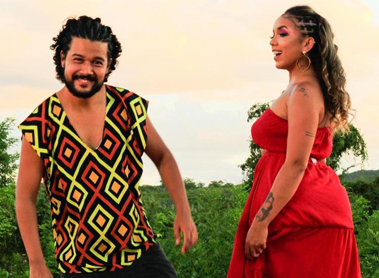 Artistas baianos VINI e Iara Cristielle lançam terceiro clipe do projeto   Foto: Reprodução   Instagram - Foto: Reprodução   Instagram