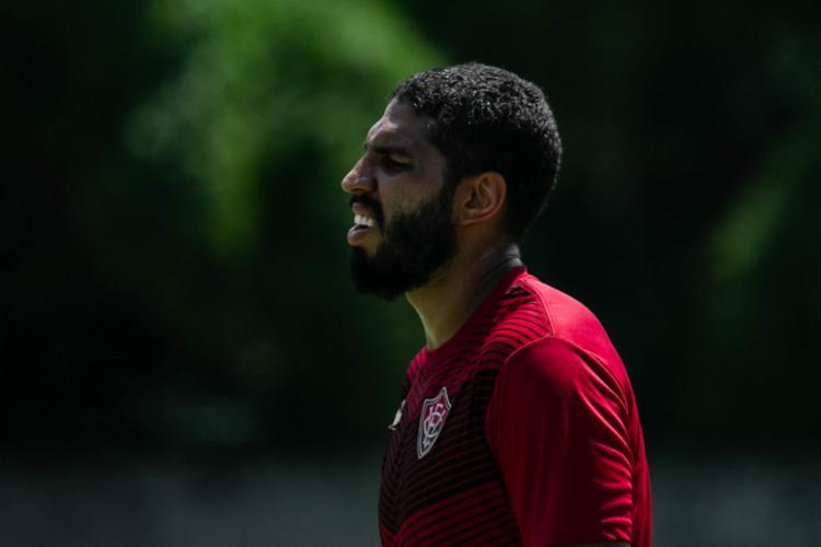 De acordo com o clube, todos os jogadores tiveram resultado negativo pra Covid-19   Foto: Letícia Martins   EC Vitória - Foto: Letícia Martins   EC Vitória