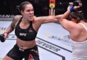 Arrasadora, Amanda Nunes mantém cinturão diante de Megan Anderson no UFC 259 | Foto: AFP