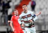 Portugal sofre, mas vence Luxemburgo nas Eliminatórias com gol de CR7 | Foto: John Thys | AFP