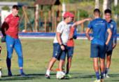 Dado faz primeiro esboço do time titular do Bahia para o Nordestão | Foto: Felipe Oliveira | EC Bahia