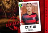 Vitória anuncia a contratação do atacante Ygor Catatau | Foto: Reprodução | EC Vitória