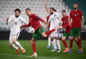 Gol contra garante vitória de Portugal sobre Azerbaijão pelas Eliminatórias | Foto: