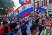 Por falta de vacinas, Paraguai tem 2ª noite de atos contra presidente | Foto: Reprodução