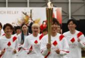 Mulher mais velha do mundo renuncia ao revezamento olímpico devido à Covid-19 | Foto: Kim Kyung-Hoon | AFP
