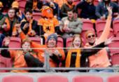 Diante de 5 mil torcedores, Holanda vence Letônia pelas Eliminatórias da Copa do Mundo | Foto: Reprodução | OnsOranje | Twitter