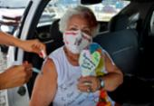 Idosos a partir de 78 anos são vacinados em Salvador | Foto: