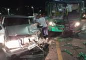 Acidente deixa uma pessoa ferida no bairro de Nazaré | Reprodução | Leitor A TARDE