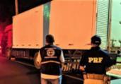 PRF apreende carga de aves congeladas na BR-101 | Divulgação | PRF