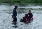 Corpo de homem é encontrado boiando no rio de Contas | Divulgação | Corpo de Bombeiros
