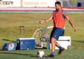 Gilberto treina e fica à disposição do Bahia para duelo | Felipe Oliveira | EC Bahia