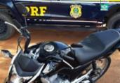 Homem é preso após comprar moto roubada em rede social | Divulgação | PRF