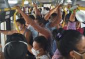 Cidadão Repórter: passageiro denuncia aglomeração | Divulgação | Cidadão Repórter
