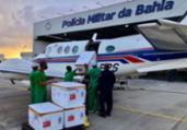 Covid-19: Bahia recebe mais de 165 mil doses da vacina | Divulgação | Sesab