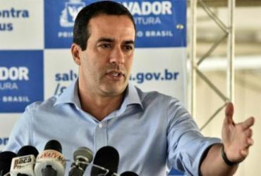 Prefeito afirma que Salvador possui doses suficientes para imunizar idosos acima dos 79 anos | Shirley Stolze | Ag. A TARDE