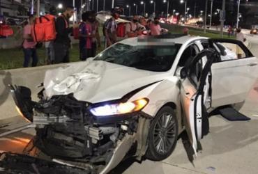 Motorista trafega pela contramão e provoca morte de motociclista na avenida ACM | Reprodução | Cidadão Repórter