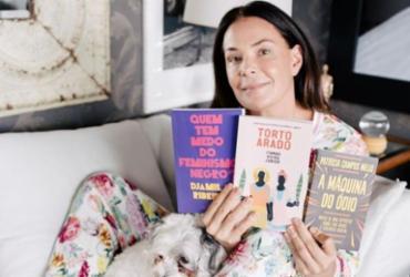 Carolina Ferraz indica título de escritor baiano para ler na quarentena | Divulgação