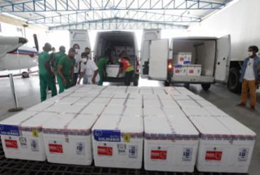Bahia receberá cerca de 345 mil doses de vacinas contra Covid-19 nas próximas horas | Camila Souza | GOVBA