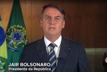 Planalto cancela pronunciamento de Bolsonaro em cadeia de rádio e TV | Reprodução