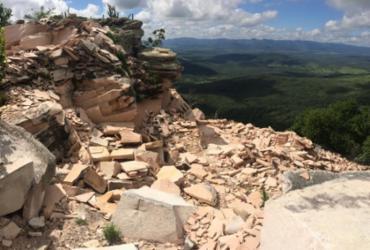 MP-BA protocola ações contra extrações minerais ilegais na Serra do Tombador