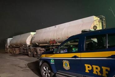 Combustível com documentação fiscal irregular é apreendido na BR-116