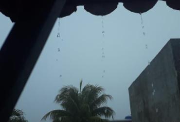 Salvador amanhece com chuva e céu nublado | Reprodução | Cidadão Repórter