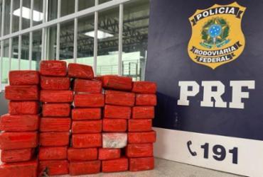 Mulher é presa com 37 tabletes de maconha em bagageiro de ônibus
