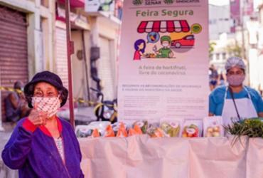 Feira Segura beneficia feirantes e fregueses | Divulgação | Faeb