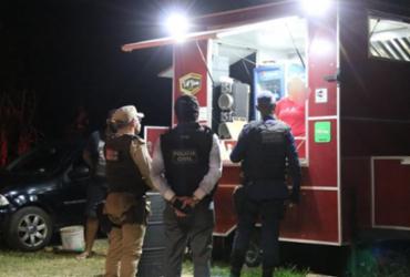 Dezoito pessoas são flagradas desrespeitando toque de recolher | Divulgação | SSP