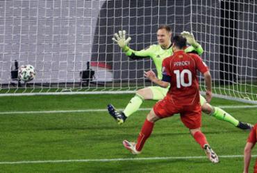 Em casa, Alemanha perde para Macedônia pelas Eliminatórias para a Copa |