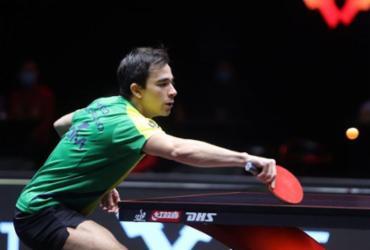 Calderano cai para companheiro de clube e dá adeus a torneio em Doha |