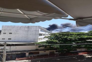 Incêndio atinge clínica no bairro de Ondina neste domingo | Cidadão Repórter