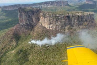 Bombeiros ainda monitoram focos de incêndios florestais na Bahia   Divulgação   Corpo de Bombeiros