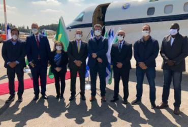 Em Israel, ministro Ernesto Araújo é advertido por não usar máscara | Agência Brasil | Divulgação