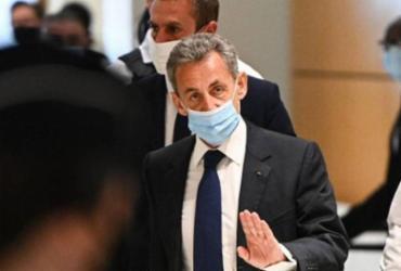 Justiça da França condena ex-presidente Sarkozy a 3 anos de prisão | AFP