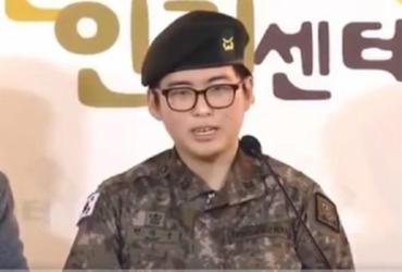 Militar transexual dispensada do Exército sul-coreano é achada morta | Reprodução