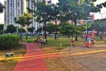Praça Ana Lúcia Magalhães: mais do que um espaço de lazer e socialização | Reprodução