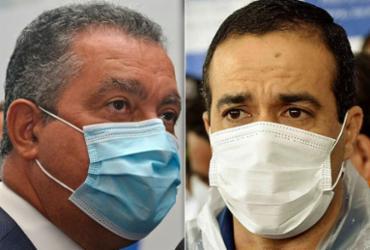 Rui e Bruno criticam promessas de Doria sobre antecipação de imunização   Shirley Stolze   Ag. A TARDE e Valter Pontes   Secom