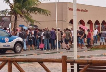Tumulto é registrado no Terminal de Vera Cruz por conta de aglomeração