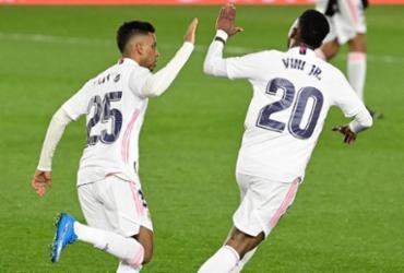 Real Madrid empata no Espanhol graças a gol de Vinícius Júnior | Javier Soriano | AFP