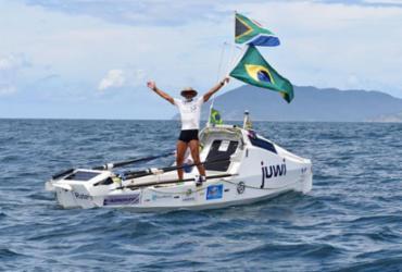 Sul-africano bate recorde mundial de travessia a remo do Atlântico |