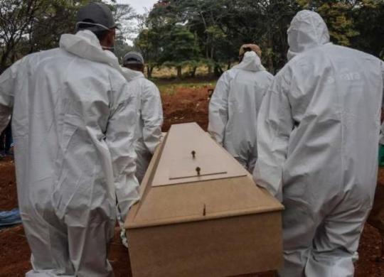Fevereiro atinge o 2º maior número de óbitos por Covid-19 desde o início da pandemia | Bruno Concha | Secom PMS