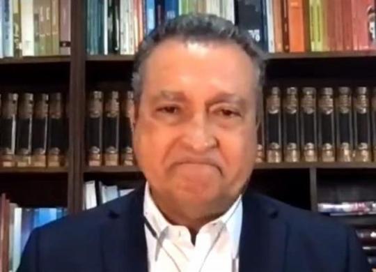 Rui Costa chora ao falar de casos de Covid-19 e risco de colapso | Reprodução | TV Bahia