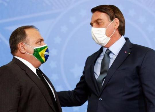 Bolsonaro diz que primeiras doses de vacina da Pfizer chegam em abril | Marcos Santos | USP Imagens
