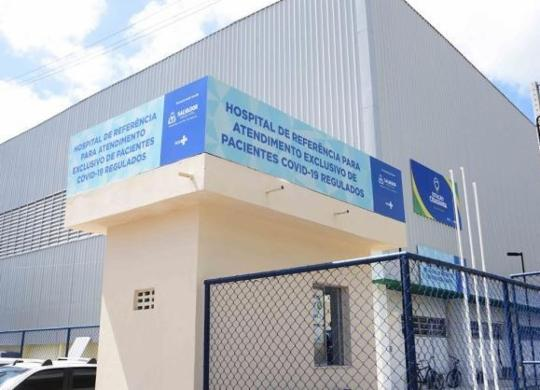 Hospital de campanha em Itapuã passa por vistoria   Betto Jr   Secom