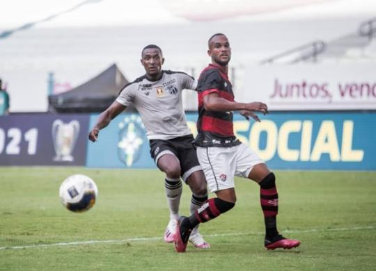 Técnico do Vitória condena erros na derrota para o Ceará | Felipe Santos | C.S.C