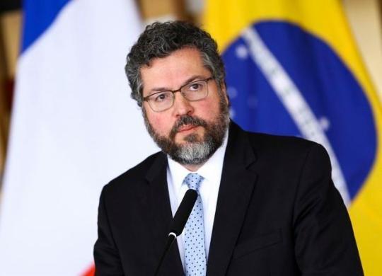 Acompanhe o depoimento de Ernesto Araújo à CPI da Pandemia | Marcelo Camargo | Agência Brasil