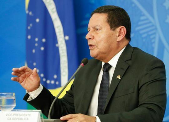 Mourão diz que não foi convidado a reunião ministerial: 'Sinto falta' | Reprodução