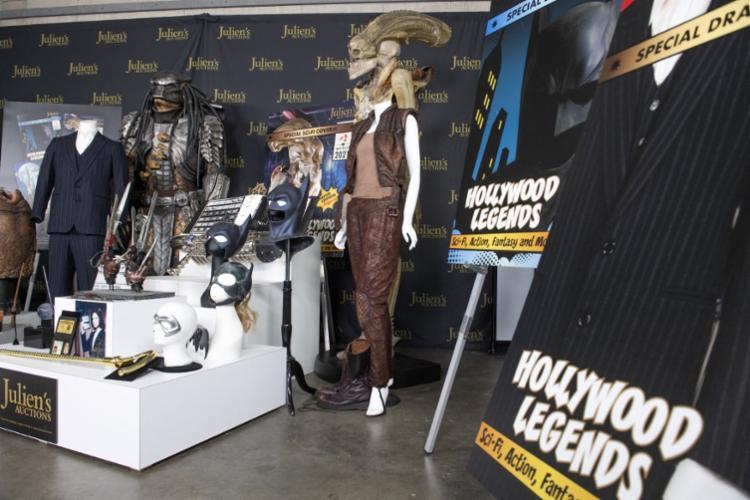 Cerca de 800 itens icônicos de Hollywood serão leiloados no final de abril em Los Angeles - Foto: Valerie Macon   AFP